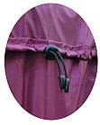 Чехол для чемодана Coverbag Нейлон  Ultra L черный, фото 2