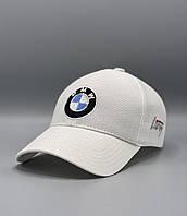 Автомобильная кепка бейсболка бмв BMW белая