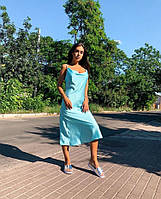 Женское платье комбинация