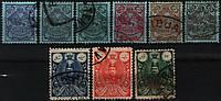 Персия 1907-1909 USED подборка