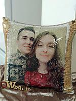 Подушка с антистресс с фото