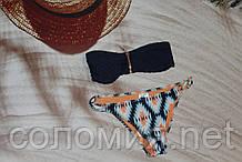 Стильний купальник-бандо h&m