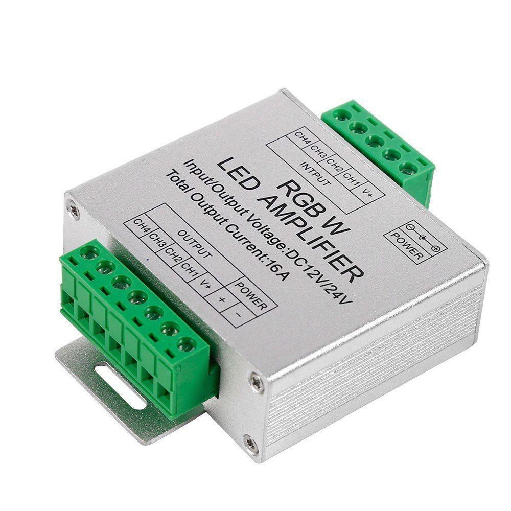 RGBW усилитель LED сигнала 24A DC 12-24Vдля светодиодной ленты.