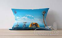 """Детская подушка с фото """"Мадагаскар 2"""""""