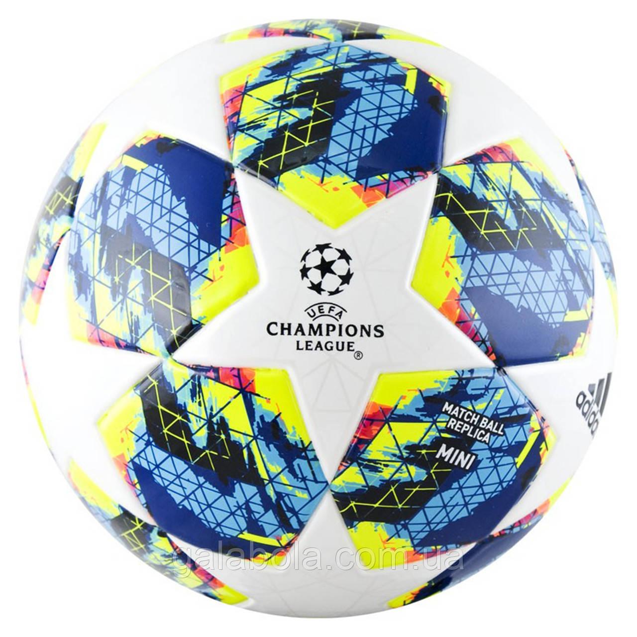 Мяч футбольный Adidas Finale 19 Mini DY2563 (размер 1)