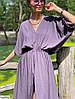 Летнее оверсайз платье с вырезом, фото 3