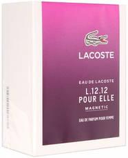 Lacoste Eau de Lacoste L.12.12 Pour Elle Magnetic Парфюмированная вода EDP 90ml (Лакост И Де Ель Магнетик) EDT, фото 3
