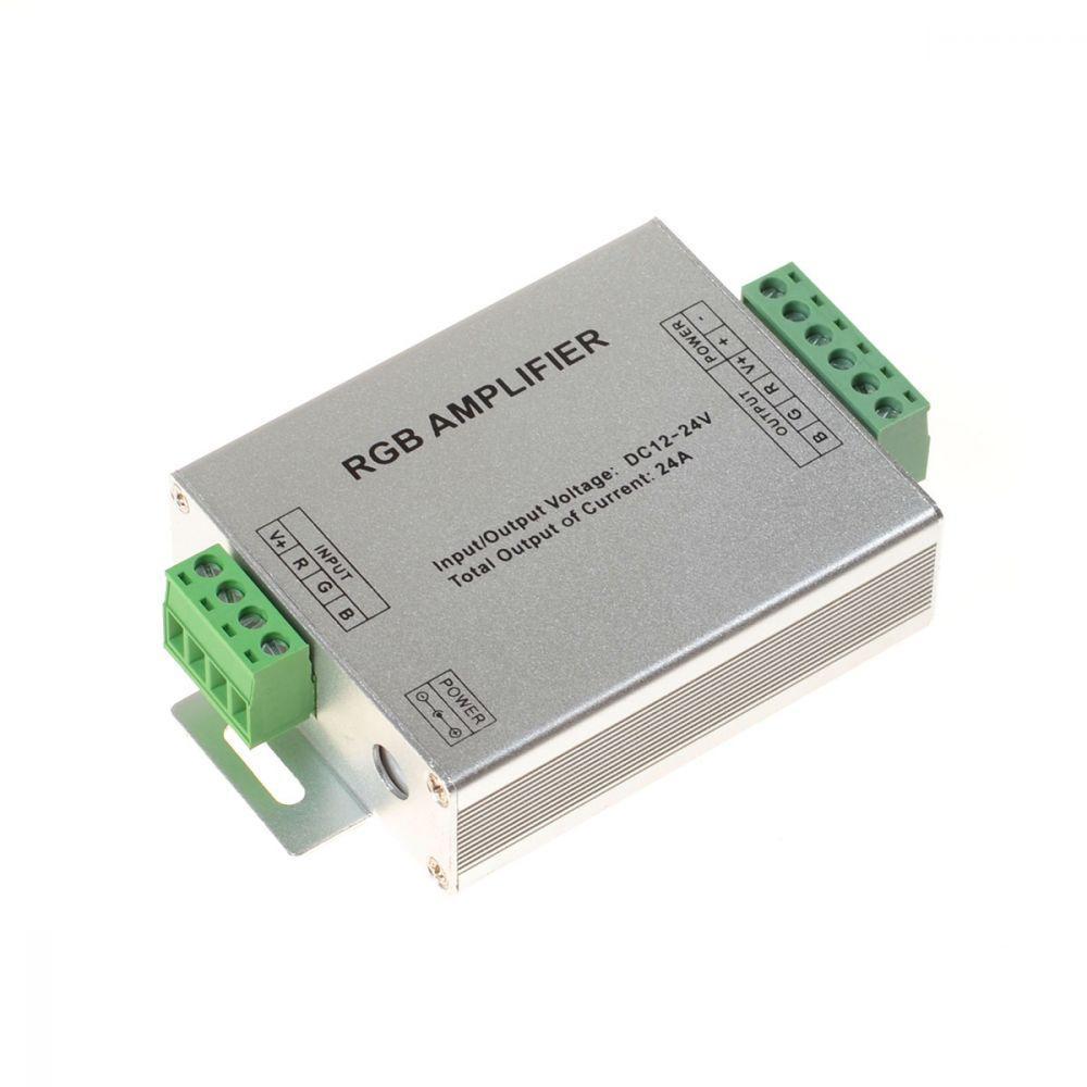 RGB LED усилитель сигнала 24A 288W 12V для светодиодной ленты.