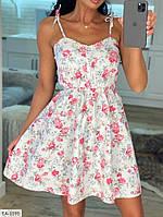 Женское летнее платье белое и черное 42-46 р.