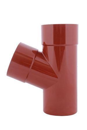 Тройник красный 67° 130/100 Profil