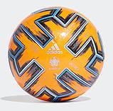 Мяч футбольный Adidas Uniforia Winter Euro 2020 OMB FH7360 (размер 5), фото 6