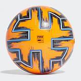 Мяч футбольный Adidas Uniforia Winter Euro 2020 OMB FH7360 (размер 5), фото 5