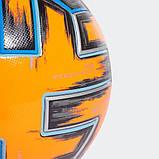 Мяч футбольный Adidas Uniforia Winter Euro 2020 OMB FH7360 (размер 5), фото 4