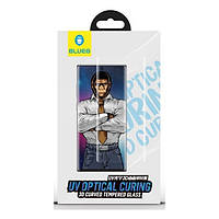 Защитное стекло Samsung Galaxy G985 S20 Plus 3D Glue + UV Light Full Cover Tempered Glass Blueo