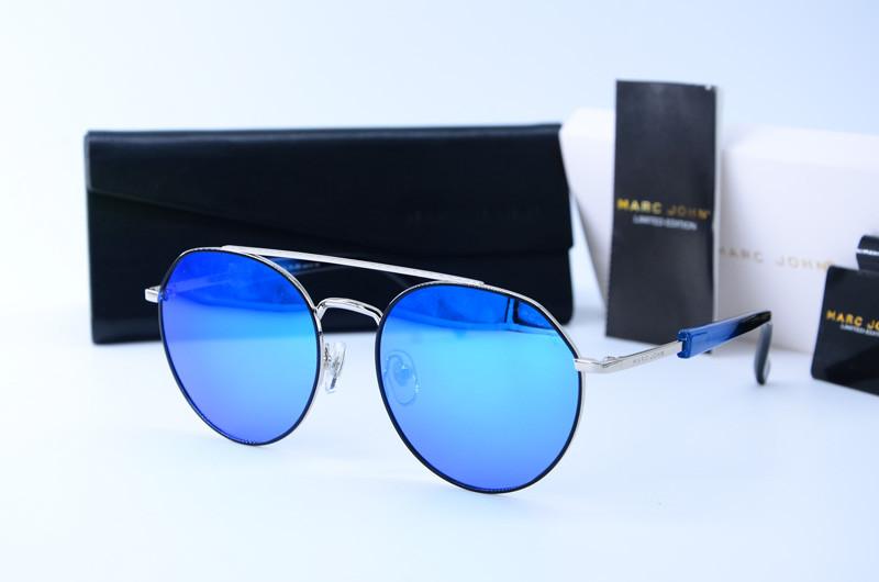 Мужские круглые солнцезащитные очки Marc John 0787 с11-R5