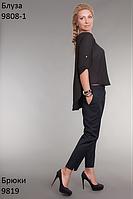 Женственная лёгкая блуза из креп-шифона
