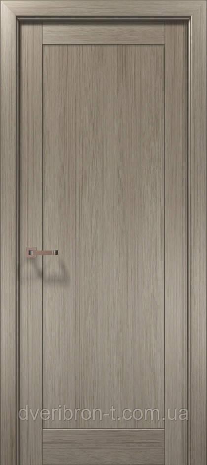 Двери Оптима-03 клён серый