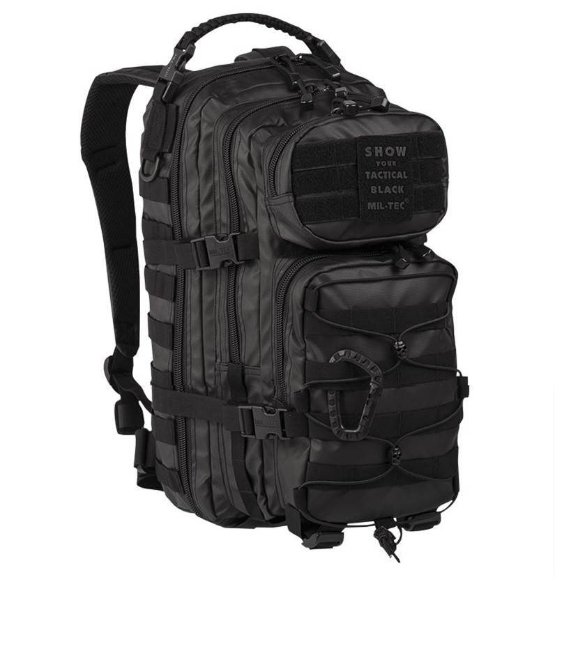 Рюкзак тактический Mil-Tec   US ASSAULT PACK SM TACTICAL 20литров black