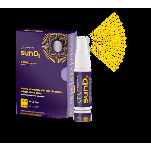 Натуральный высокоэффективный витамин D3 LYLsunD3