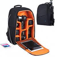 Фоторюкзак PULUZ PU5011B Черный Рюкзак для фототехники