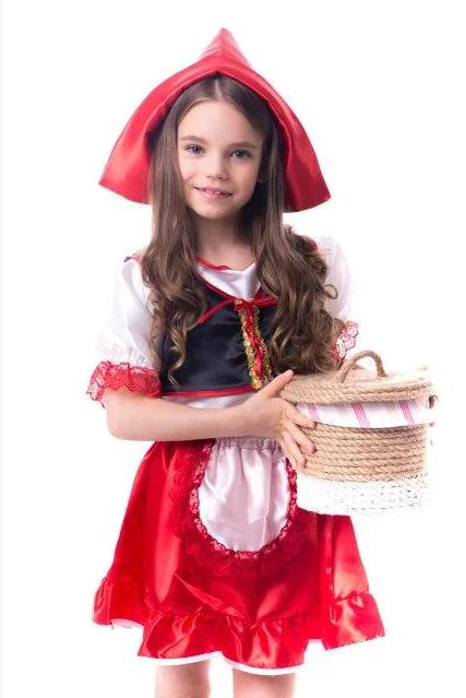 Дитячий костюм Червона шапочка