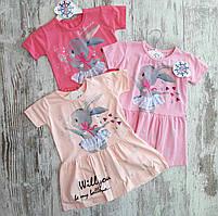 Детское платье 3-5 лет для девочек Турция оптом