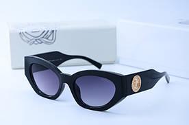 Женские солнцезащитные очки Кошка 4376 черн