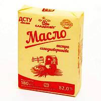 Масло экстра сливочное 82% (пачка, гофрокорб)