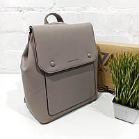 Рюкзак жіночий, кава, шкірзам Арт.HS320 Eteral Smile (Китай) (Большой женский кофейный городской рюкзак-сумка из кожзаменителя)