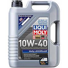 Полусинтетическое моторное масло Liqui Moly Leichtlauf 10W-40 - 5 л