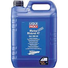 Полусинтетическое моторное масло Liqui Moly Marine 4T Motor Oil 10W-40 - 5 л