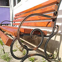 Кованая скамейка лавочка   2 м