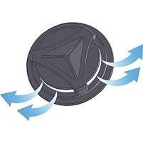 Маска 4 штуки для семьи защитная с клапаном  НАБОР разные цветная ярка, фото 4