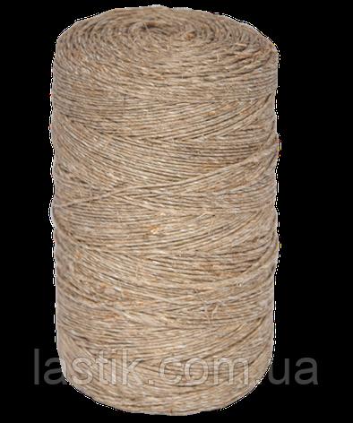 Шпагат льнопеньковый, толщина 1000 текс, длина 850 м, фото 2