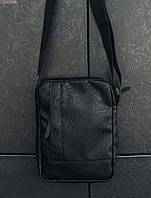 Сумка через плечо Staff leather black