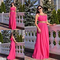 """Платье женское вечернее шифоновое мод. 784 (M, S) """"SLAVIA"""" недорого от прямого поставщика, фото 1"""