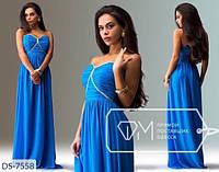 """Платье женское шифоновое мод: 801 (L, M, S) """"SLAVIA"""" недорого от прямого поставщика, фото 1"""