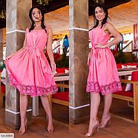"""Платье женское на бретелях модель 741 (L, M, S) """"SLAVIA"""" недорого от прямого поставщика, фото 1"""