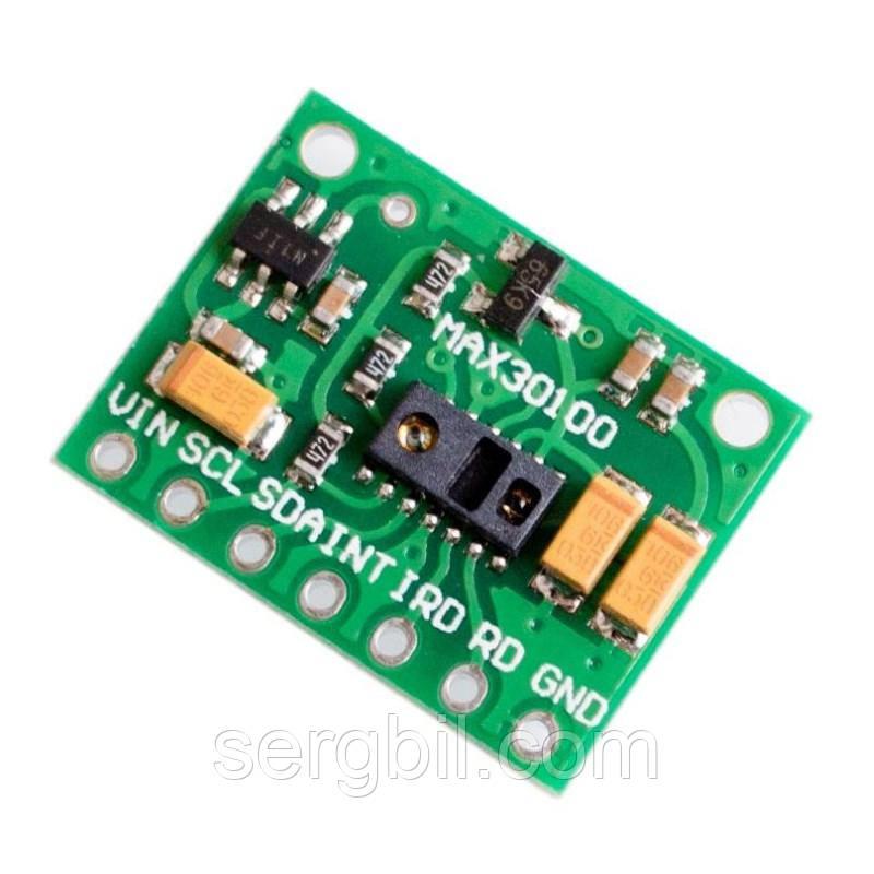 MAX30100 модуль пульсоксиметр, датчик пульса
