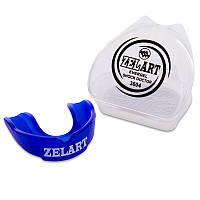 Капа боксерская односторонняя (одночелюстная) в футляре ZEL BO-3604-L