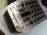 DJ пульт BEHRINGER VMX-200 PRO MIXER бу + микрофон, фото 1