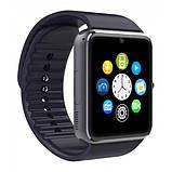 Smart часы GT08 + камера, black, фото 4