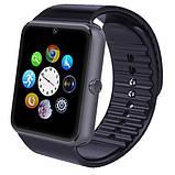 Smart часы GT08 + камера, black, фото 5