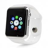 Smart часы A1 + камера, white, фото 3
