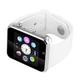 Smart часы A1 + камера, white, фото 4