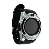 Smart часы V8 + камера, silver, фото 5