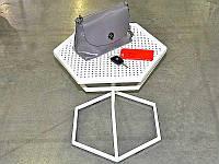 Журнальный столик металлический, фото 1