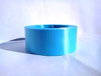 Голубая лента полипропиленовая для упаковки цветов и подарков