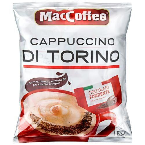 Кавовий напій MacCoffee Cappuccini DiTorino / МакКофе Капучино ДиТорино (25г х 20шт)