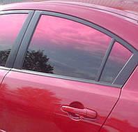 Пленка Global переходная красно-черная Red-Gradation ( премиум, металлизированная)